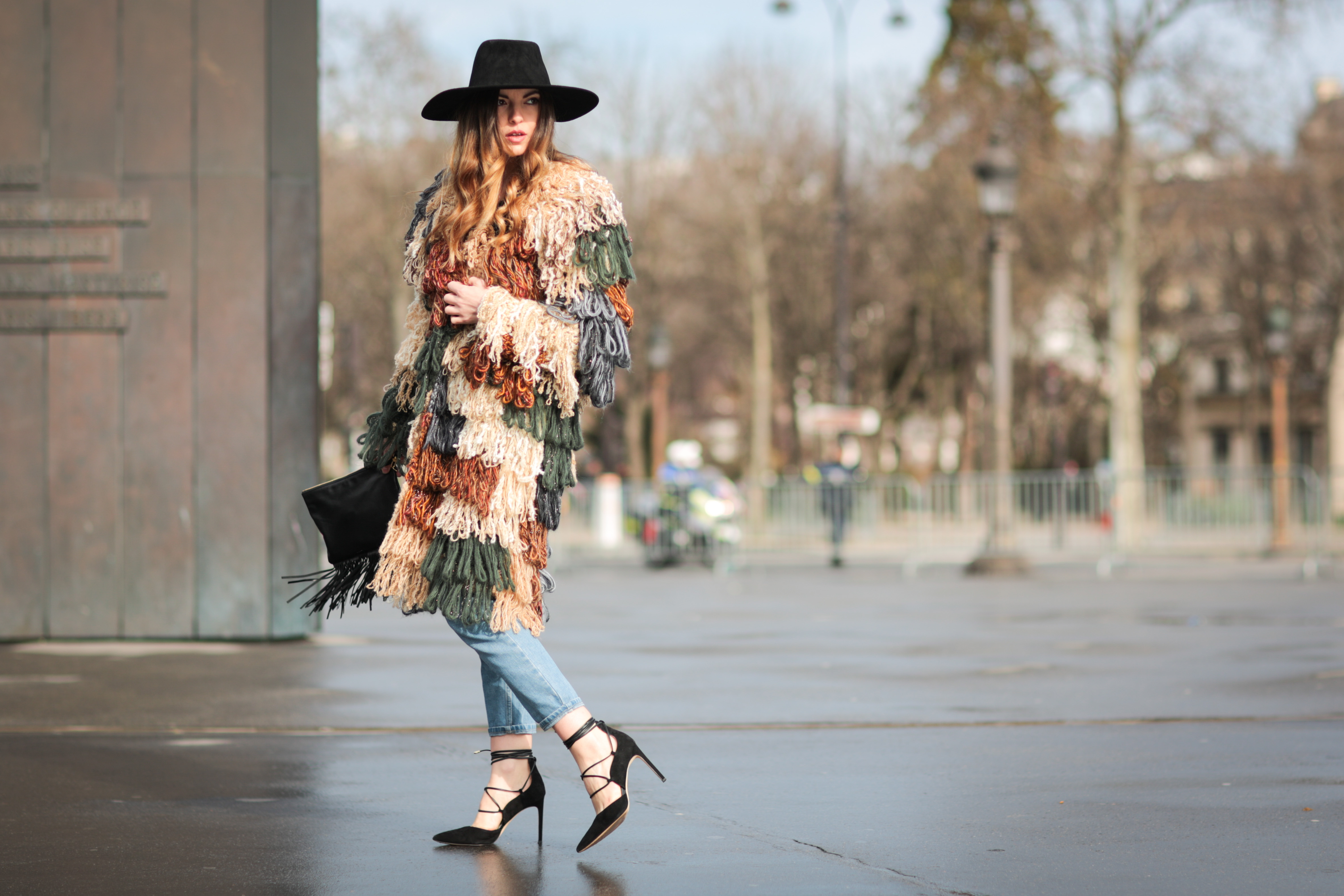 a17cd34c31d3 Street Style -Paris Fashion Week   Day Eight Womenswear Fall Winter 2016  2017